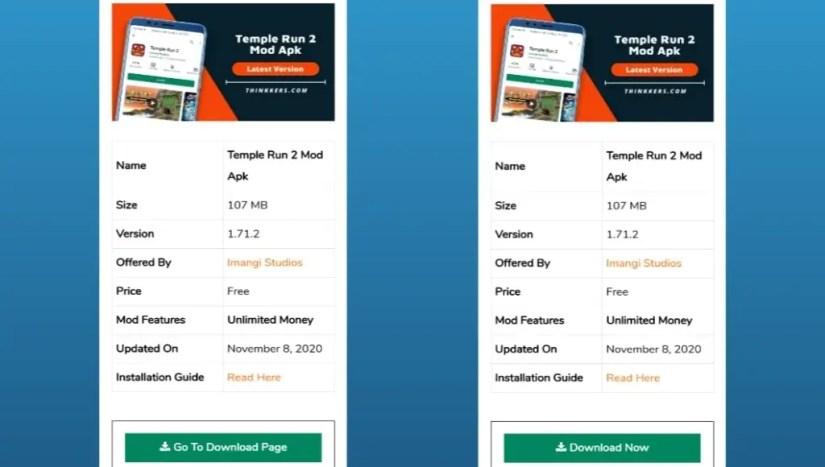Download Temple Run 2 Mod Apk