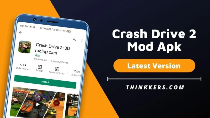 Crash Drive 2 Mod Apk