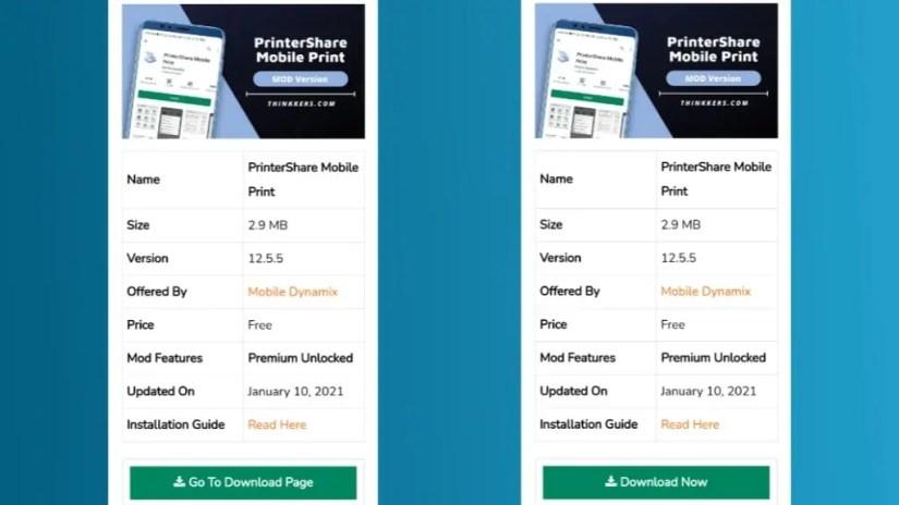 PrinterShare Mobile Print Mod Apk