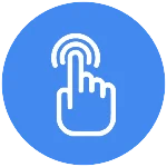 Multi-point touch support