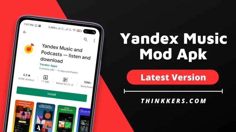 Yandex Music Mod Apk