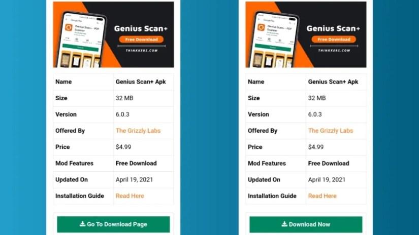 Genius Scan + Pro Apk