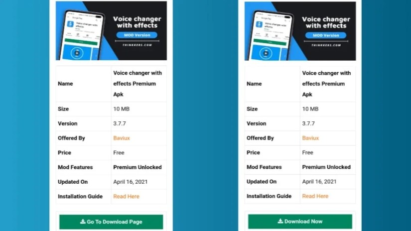 Voice Changer with Effects Mod Apk download