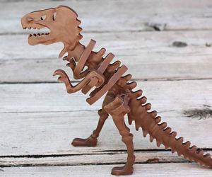 3D Chocolate Candy T-Rex Mold