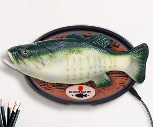 Alexa Enabled Big Mouth Billy Bass