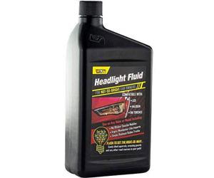 Car Headlight Fluid