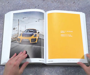 Cars & Curves Coffee Table Book