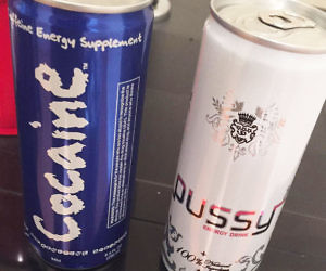 Cocaine And Pussy Energy Drinks