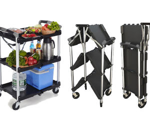 Collapsible Service Cart