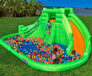 Crocodile Isle Inflatable Water Park