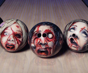 Decapitated Zombie Head Bowling Balls