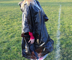 The Disposable Toilet Poncho