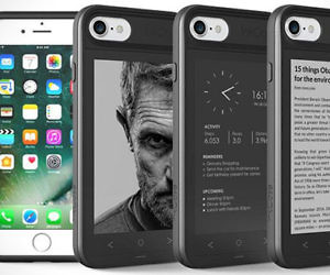 E-Ink Secondary Screen iPhone Case
