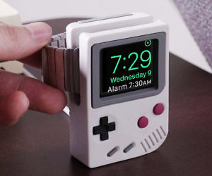 Game Boy Apple Watch Stand