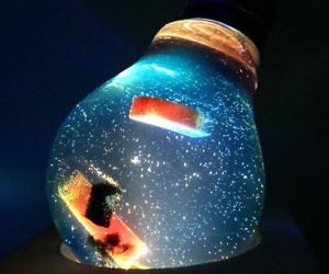 Abstract Artwork Light Bulbs
