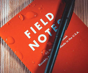 Field Notes Waterproof Notebook