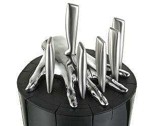Spartan Knife Block Printable Template