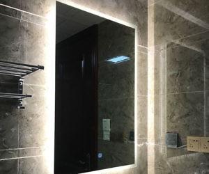 Finger Touch Light Bathroom Mirror
