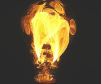 Outdoor Light Bulbs That Look Like Gas Flame - Outdoor Ideas