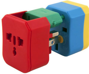 Four-In-One Global Adapter Block