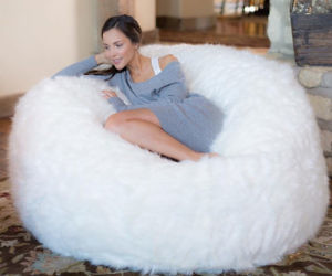 where to buy bean bag chairs table and chair rentals in delaware jumbo furry memory foam