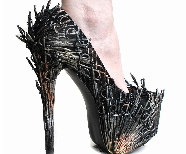 Iron Throne High Heels