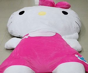 Giant Hello Kitty Pillow Bed