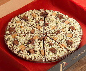 Gourmet Chocolate Pizza