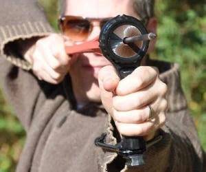 Hammer Handle Pocket Slingshot