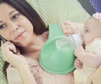 Hands Free Baby Bottle Holder
