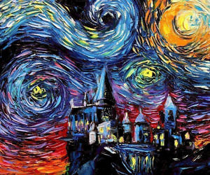 starry night harry potter