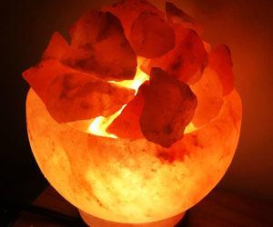 Himalayan Salt Fire Bowl Lamp