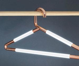 Illuminated Clothing Hangers