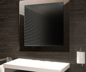 LED Bathroom Infinity Mirror