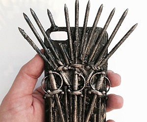 iron throne chair backboard folding rocking camp iphone case