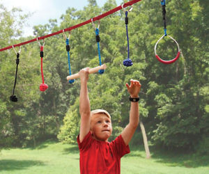 Ninja Warrior Obstacle Course For Kids