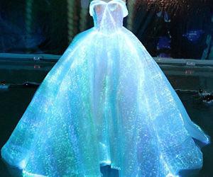Luminous Fiber Optic Wedding Dress
