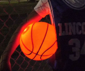 Light Up Glow Basketball