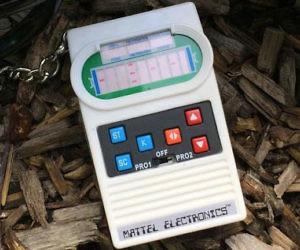 Mattel Classic Football Keychain