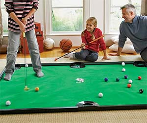 Miniature Golf Billiards