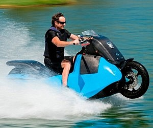 hydro chair water ski reclining lawn the jet pack gibbs amphibious motorcycle