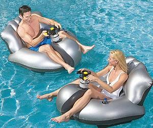 Motorized Floating Bumper Cars