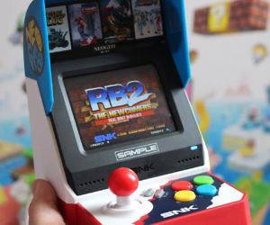 NeoGeo Mini Retro Arcade