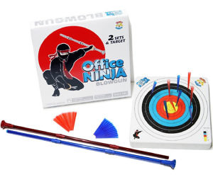 Indoor Ninja Blowgun Kit