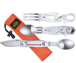 Multi-Tool Eating Utensil Set