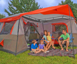 The 12-Person 3-Room Camping Tent