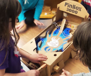 Build Your Own Carboard Pinball Machine