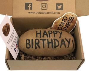 Custom Message Potato Parcel