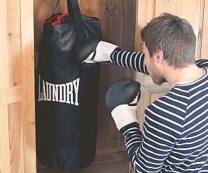 Punching Bag Laundry Bag