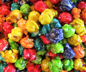 Gourmet Rainbow Popcorn